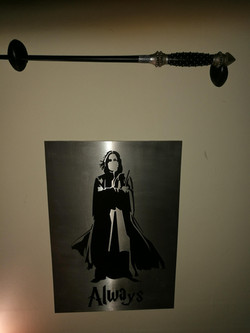 Snape With Wand.