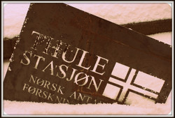 Thule Station. (Found in Snow)