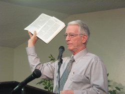 Pastor Mike Wolf