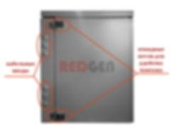 Шкаф пылевлагозвщищенный IP54