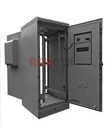 шкаф IP65 двумя дверями и двумя кондицио