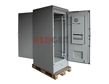 термошкаф IP55 кондиционером с двумя дверями