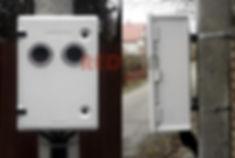 шкаф учета электричества на два абонента