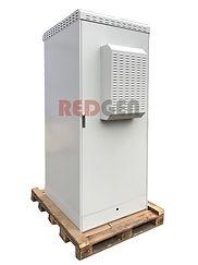 напольный всепогодный шкаф IP65 с кондиционером на поддоне