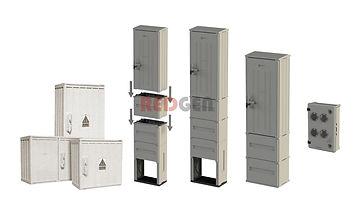 Антивандальные шкафы из полиэстера