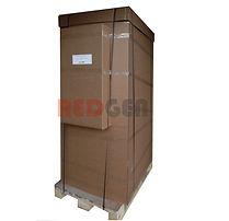 шкаф IP55 кондиционером вид при отгрузке