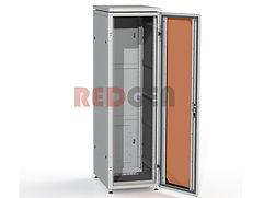 """напольный шкаф 19"""" со стекляной дверью"""