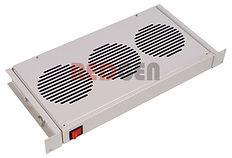 модуль вентиляторный 3 вентилятора 1 U