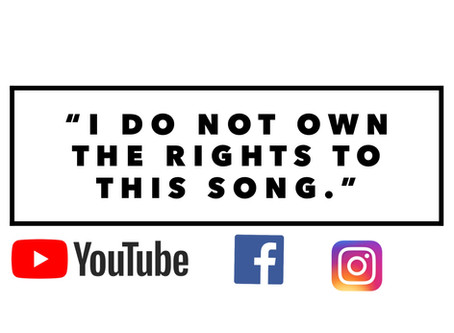 Social Media & The Law: A Copyright Infringement Lesson for YouTubers, IGers and Facebookers!