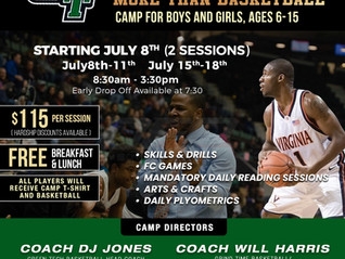 More than basketball Youth Camp