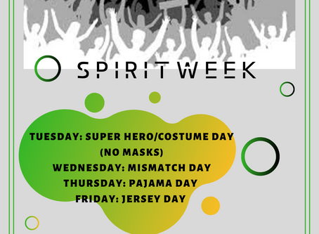 Spirit Week !!!!