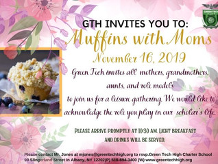 Muffins with Moms 11/16/2019