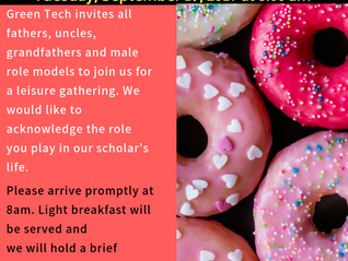 Donuts with Dads!! 9/17/19