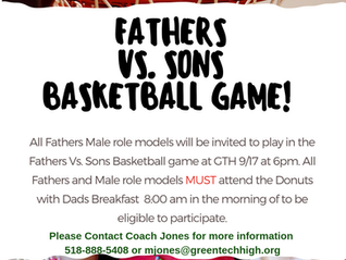 Fathers vs. Sons Basketball Game 9/17/19