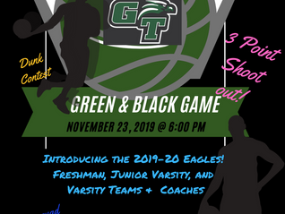 Green and Black Basketball game