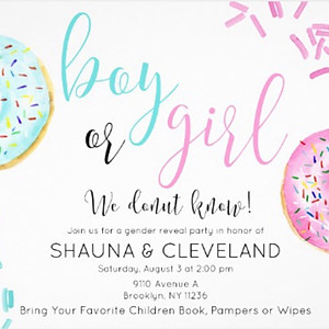 Shauna & Cleveland Gender Reveal