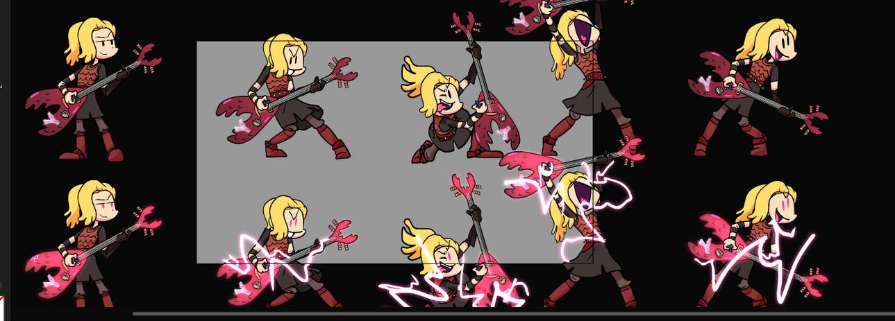 Vs Sasha sprites flash.jpg