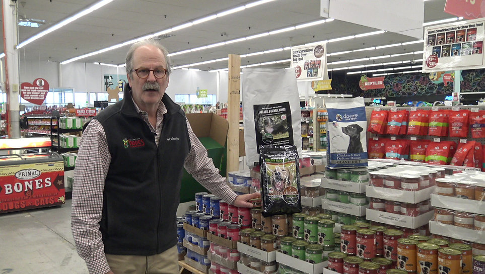Dave Ratner introduces Dave's Pet Food