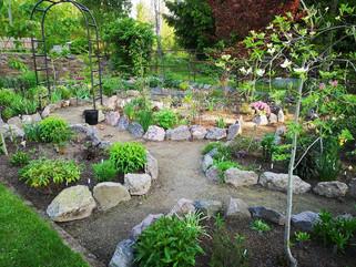 Presentation trädgård i Gårdsjö