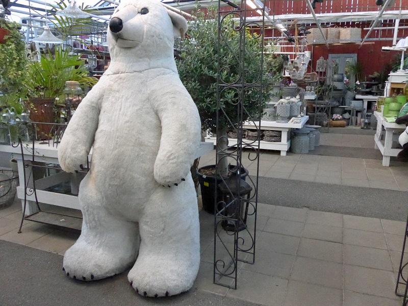 Isbjörn i butik