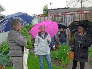 Besök i Lenas nya trädgård i Västerås
