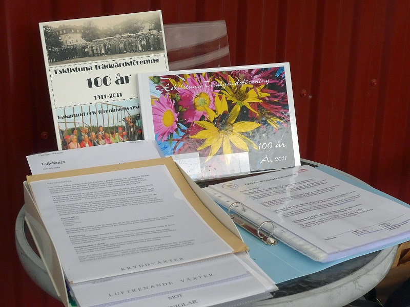 Vårt bord med info