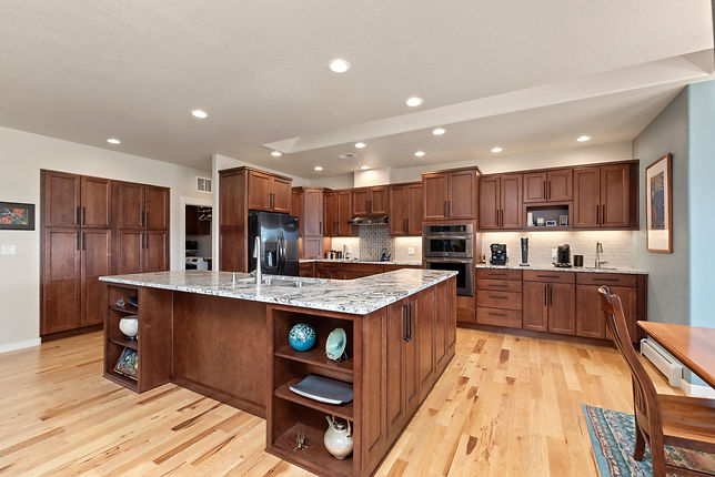 Extended Height Kitchen Cabinets