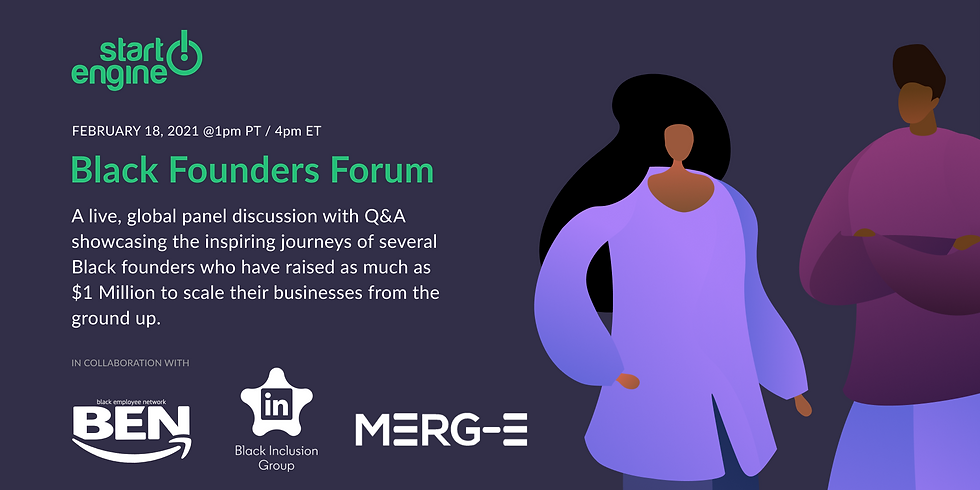 Black Founders Forum - Raising Millions to Scale Their Businesses