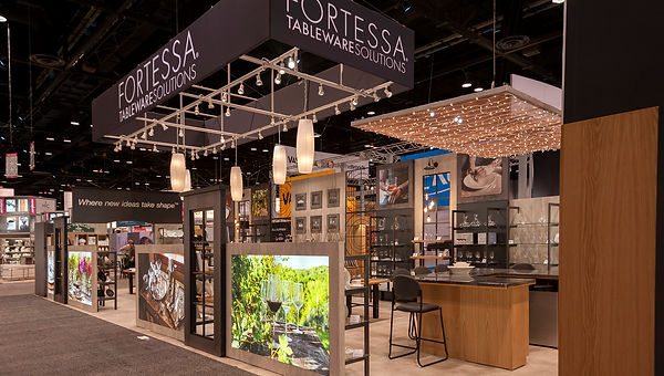 National Restaurant Association Tradeshow Booth designed by Poss Production
