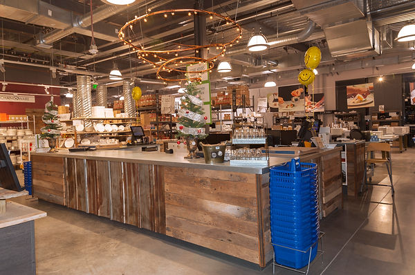 Store interior designed by Poss Productions