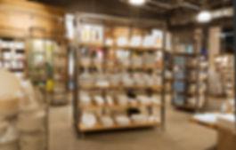 Custom designed shelves using metal and raw wood