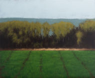 Landscape painting inspired by the Dutch school by Mark Poss