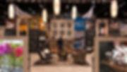 Interior of custom designed tradeshow booth