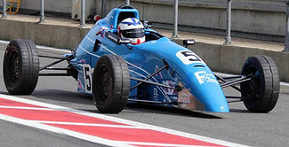 AF RACING Adam Fathers ff1600 pit lane exit snetterton 300