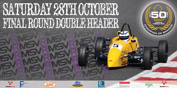 Adam Fathers Champion of Brands Hatch 28 october