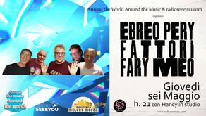 AROUND w/ dj Ebreo Pery Fattori Fary Meo & Hancy