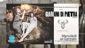 AROUND Première TUTTO TACE ft  i Giardini di Pietra project