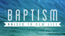 Baptism Service: 15th November @6.30pm