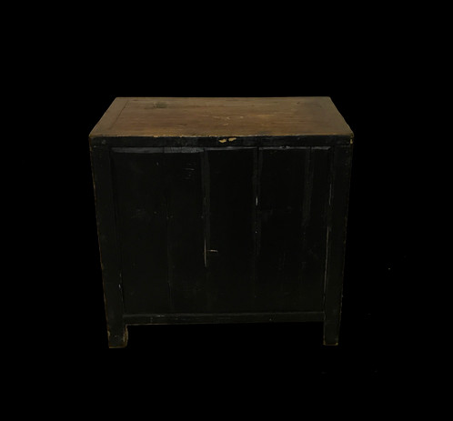 Antique Chinese cabinet in great condition. Would make a wonderful side  table or nightstand. Unique piece! - Small Antique Cabinet Barnesestatefinds