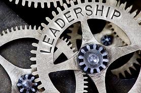 gears that say leadership