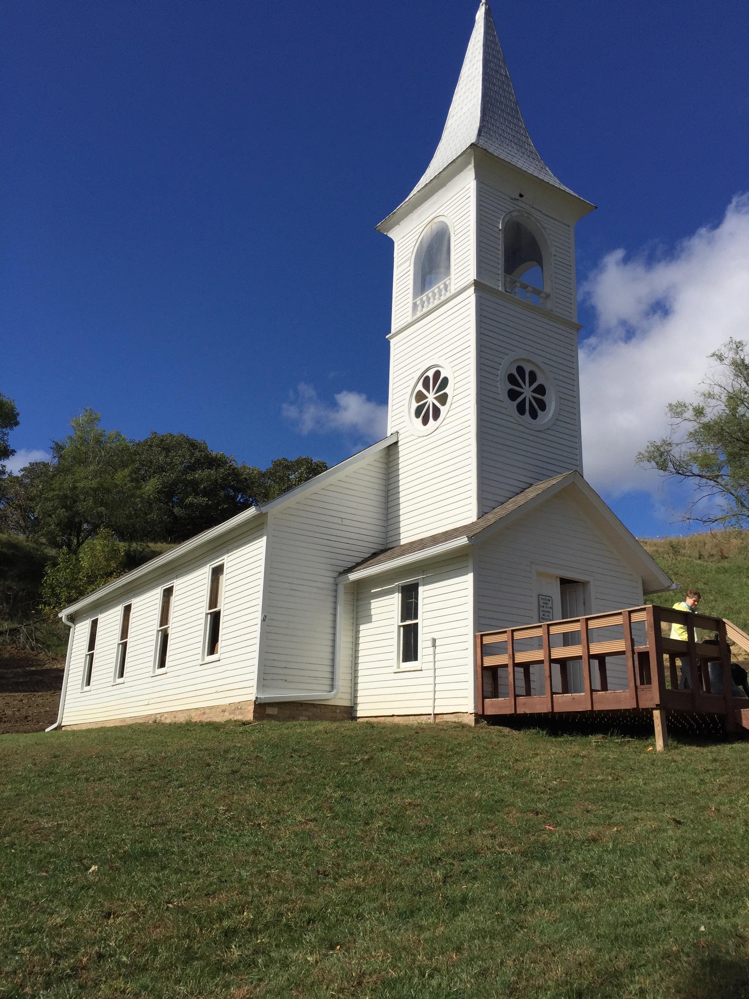 hand build church