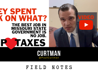 They Spent 30k on What? GOP HEARTS TAXES. The Best Job in Missouri State Government is No Job.