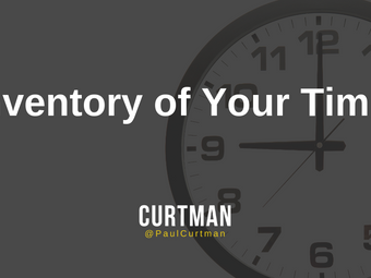 Inventory of Your Time