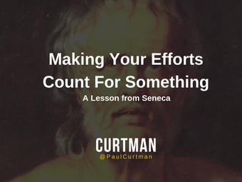 Making Your Efforts Count for Something