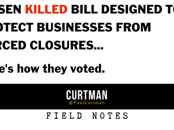 MOSEN Killed Bill Designed to Protect Businesses From Forced Closures