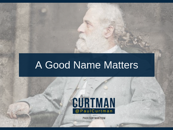 A Good Name Matters
