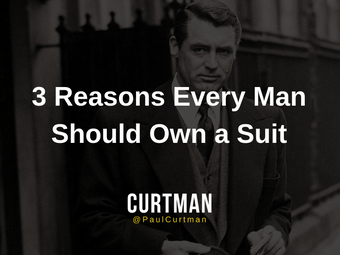 3 Reasons Why Every Man Should Own a Suit