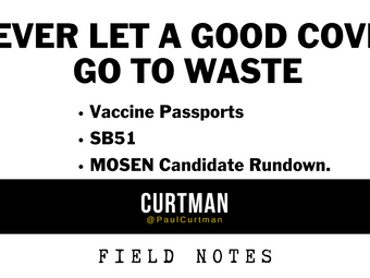NEVER LET A GOOD COVID GO TO WASTE - Vaccine Passports.SB51. US SENATE Candidate Rundown.