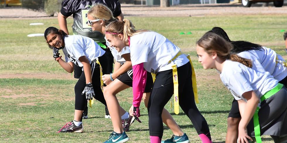 Jen Welter Girl's Football Camp