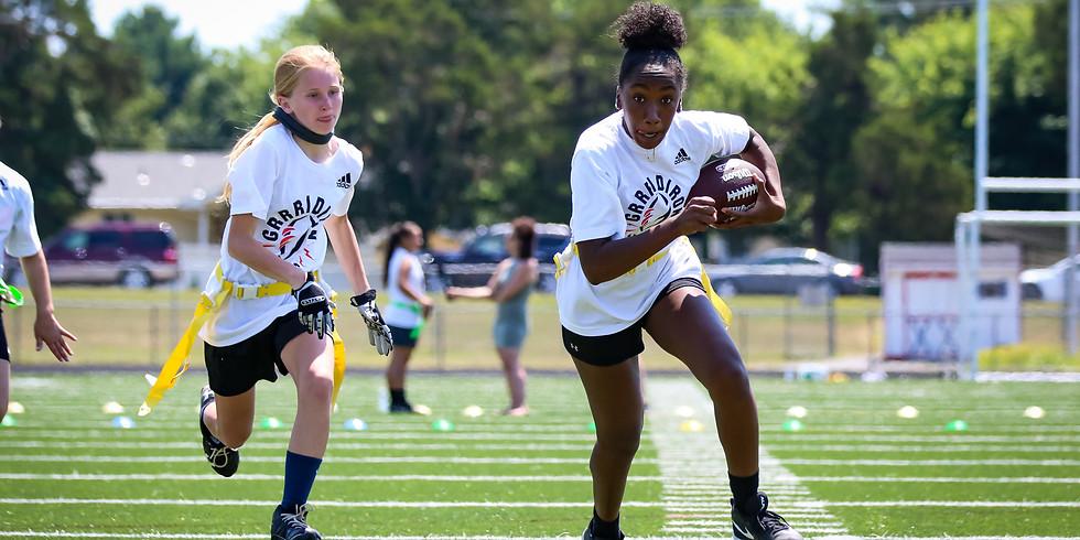 Jen Welter Girl's Football Camp | Boston